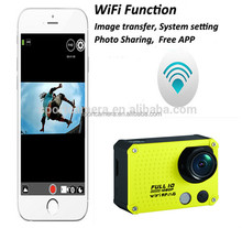 Factory directly supply 12 mega pixels 1080p 60fps hd camcorder with mobile WIFI APP
