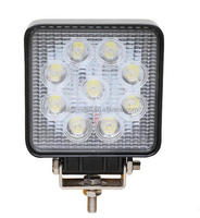 12/80v IP67 spot beam 27W Auto led Work lamp 48W Led Work Light