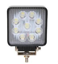 12/80v IP67 spot beam 27W Auto led Work lamp 48W Led Work Light
