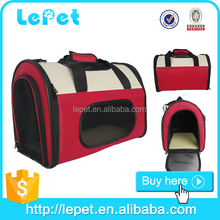 Pet Dog Cat Carrier Travel Tote Soft Sided Portable Crate