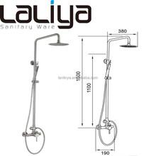 Best seller modern shower faucet stainless steel