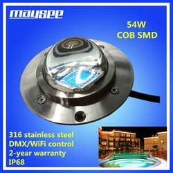 24V led swimming pool light multi color