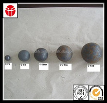 forged steel ball's chemical composition mainly include chrome and carbon