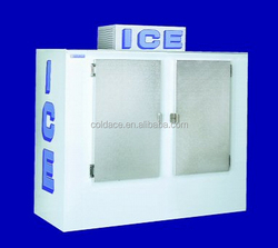 DC-670 Refrigerated bagged ice storage bin/ solar power optional