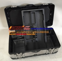 Foam shockproof hard plastic carrying cases