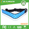 Micro USB rechargeable safety sport led belt, LED lighting belt