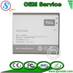 High Rechargeable Full Capacity Battery For Alcatel TLi015HA AKKU China Factory Factory OEM