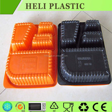 New design plastic storage trays with dividers