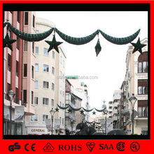 Garland lights high quality high quality event decoration lighted star hot shopping mall decoration