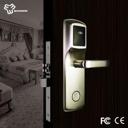 swipe key card type electronic cisa door lock with software and encoder (BW803SC-C)