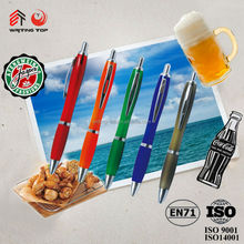 2015 factroy direct sale promotional gifts plastic ball pen