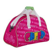 Cheap funny handbag dance bag travel bag for girls