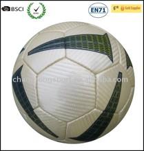 hand stitched PU match football/ soccer ball cool football