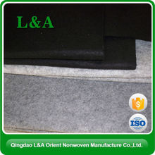 100% Polyester Needle Punched Nonwoven Felt Fabric