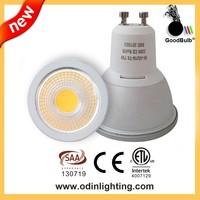 COB GU10, LED GU10 Dimmable ,7W/600lm, CRI>80, Warm/Cool White