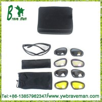 Hot sale box pack military tactical C5 dust protection goggles