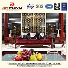 Modern Wooden Fabric Living Room Sofa, AZ-GGSF-0037