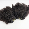 Wholesale Top Grade Afro Kinky Curl Human Hair Extensions, Brazilian Afro Kinky Human Hair Weft