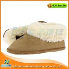 Wholesale chestnut ankle house slipper
