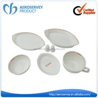 China Manufacturer custom logo wholesale white ceramic opal dinner set