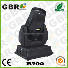 700w moving head stage light rotating stage light for hot sale