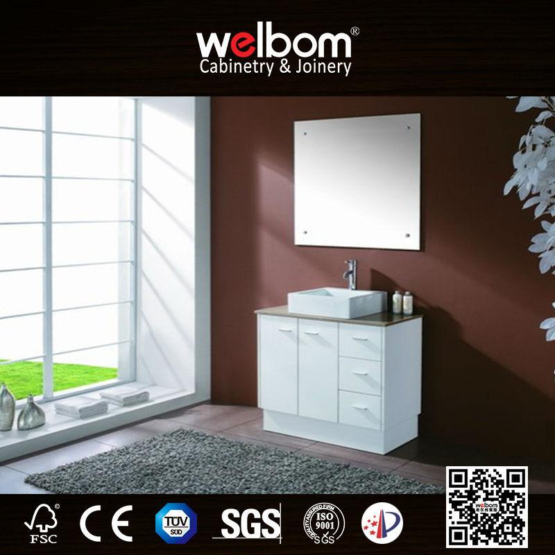 wall mounted makeup bathroom cabinet vanity