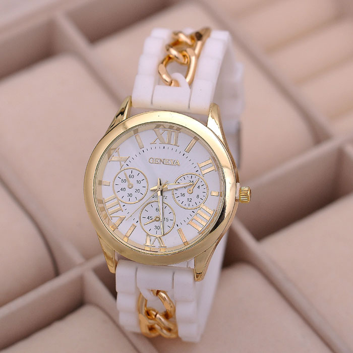 2014 Hot sell geneva brand watch,elegant china replica watches,fashion women watches