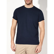 mens crew neck 100% organic cotton t-shirt