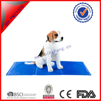 home furniture pet products waterproof refreezable luxury dog beds cooling mat