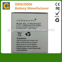 2350mah c786340235T cellphone battery for BLU mobile