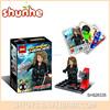 Mini figure hero plastic building block super set toys