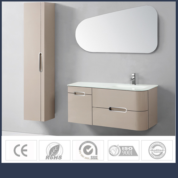 Manufacturers fancy appearance wall mounted ready made Bathroom cabinet manufacturers
