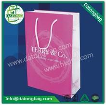 de color rosa costo de producción de papel bolsa de hacer proveedor de papel bolso de compras