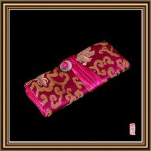 Top quality cheapest small jewelry silk bags with string