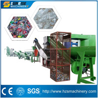 Automatic Grade and New Condition pet Bottle Recycling Plant/pet Flake Washing Line