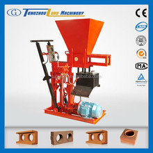 eco brava manual interlocking brick press