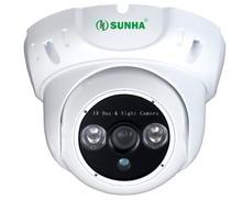 SUNHA HD IR-CUT CMOS 1300TVL CCTV Suveillance security camera 2 IR outdoor Bullet Home