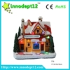 China Chirstmas decoration factory supplier, Christmas house with led light