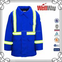 Blue wear rough workwear plus size hi vis coal mine workwear for mining