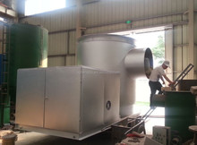 FD Biomass rice husk powder/wood dust/sawdust/palm powder burner for rotary kilns