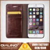 Fashion Wholesale Quality Guaranteed Cow Leather Phone Covers For Iphone 6