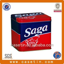 hot selling best designed of food level tin box