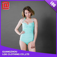 Cheap one piece seamless swimwear