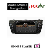 7 Inch 2 din touch screen car dvd player for toyota corolla with car radio/fm/am/gps/BT/usb/sd/ipod/vcd/cd car multimedia player