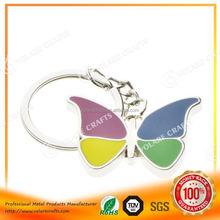 Hotsale high quality metal heart shaped key ring