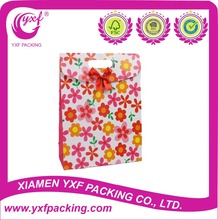 2015 Hot Sale Colorful Flowers Gift Bag