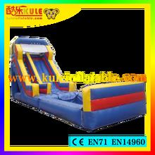 Kule novo produto escorrega inflável gigante de slides piscina escorregar e deslizar piscina usada para venda