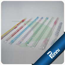 Food Grade PP Film Wrapped 3 mm Drinking Straw