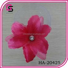 2014 fashion hot sale flower hair grips bobby pins