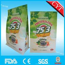 box bottom chia seed packaging